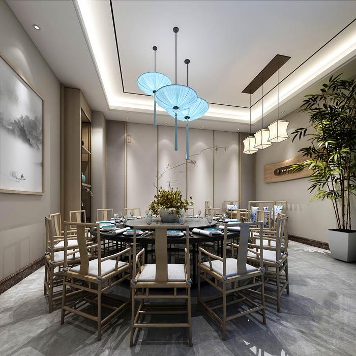 特色私房菜馆装修设计效果图