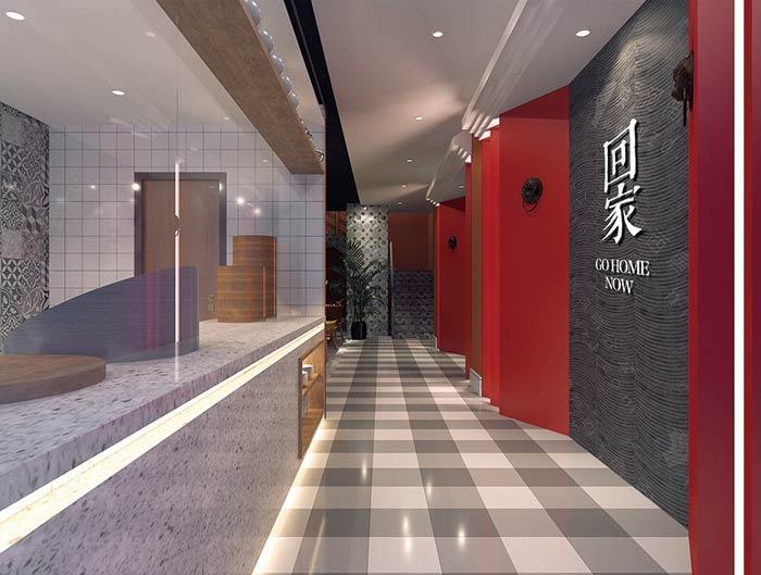 私房菜餐厅装修设计效果图