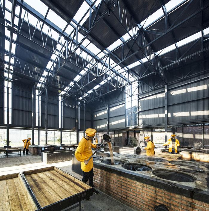 红糖厂房车间工作区装修设计效果图