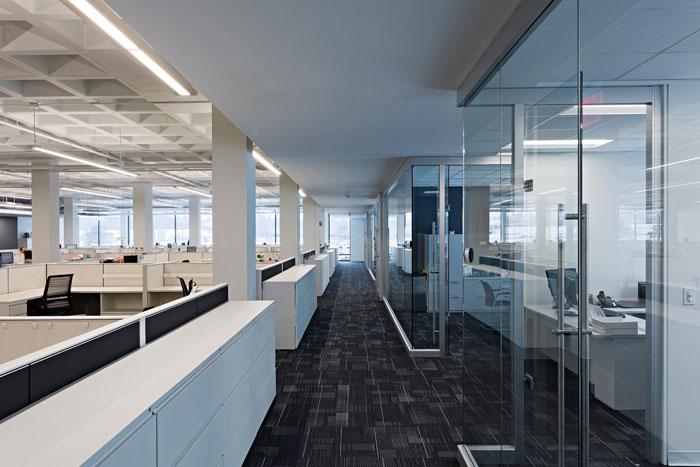 汽车工厂办公室装修设计效果图