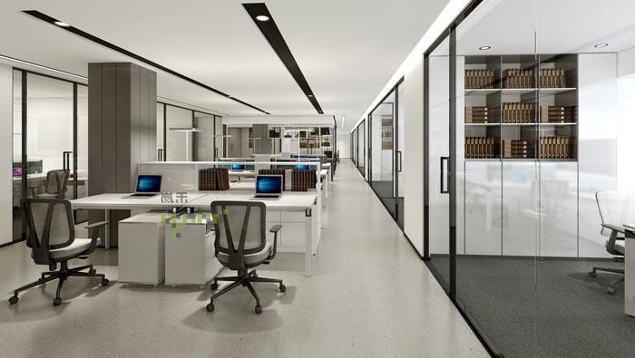 律师事务所办公室装修设计效果图