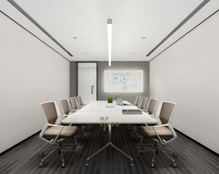 律师事务所办公室小会议室装修效果图
