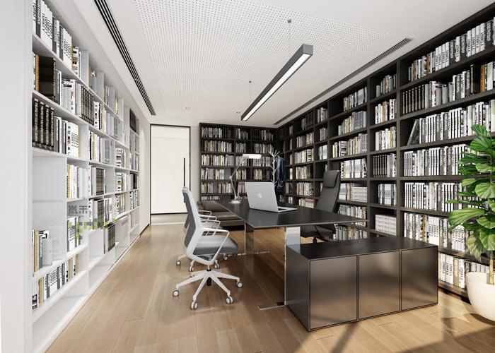 律师事务所合伙人办公室装修效果图