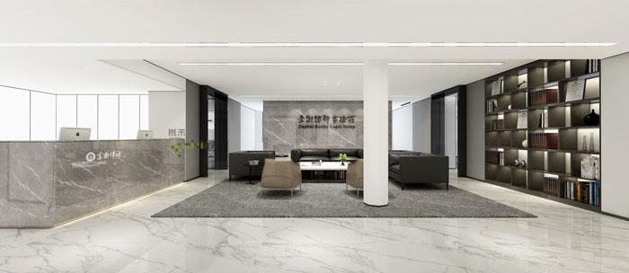 杭州律师事务所办公室装修效果图