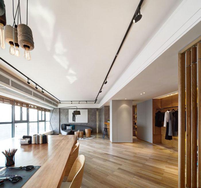 本次为80平方办公室装修设计效果图,办公室设计面积80平方,设计师在办公室设计中,以现代简约做为办公室设计关键词,设计师需要呈现的是沉静与素雅,希望营造一个人间静美的办公空间。   办公室平面图