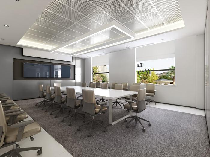艾森医药办公室会议室装修设计效果图