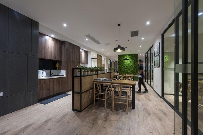 600平方办公室装修设计效果图