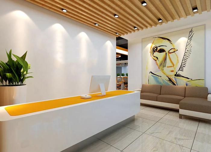 本次为能源科技公司办公室装修设计效果图,办公室设计面积900平方,设计师结合客户的想法与要求,使办公室更加合理性,且更加富有美感,设计师希望创造一个客户满意,客户喜爱的办公空间。 办公室平面图