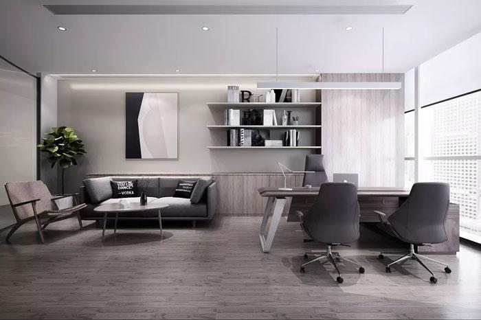 本次为保险公司办公室装修设计效果图,办公室设计面积1500平方,设计师在办公室设计中,根据每一个区域的属性,制定了相对应的办公室设计方案,目的就是希望打造一个个性化的办公空间。   办公室前台
