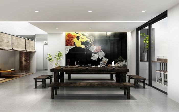 loft办公室装修设计效果图