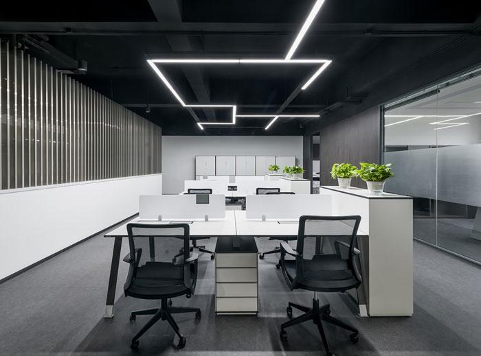 科技集团办公室装修效果图
