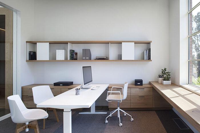 高科技公司办公室装修设计效果图