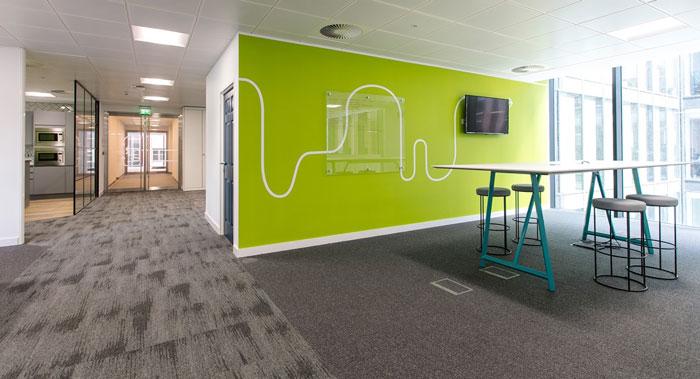 人力资源公司办公室装修设计效果图