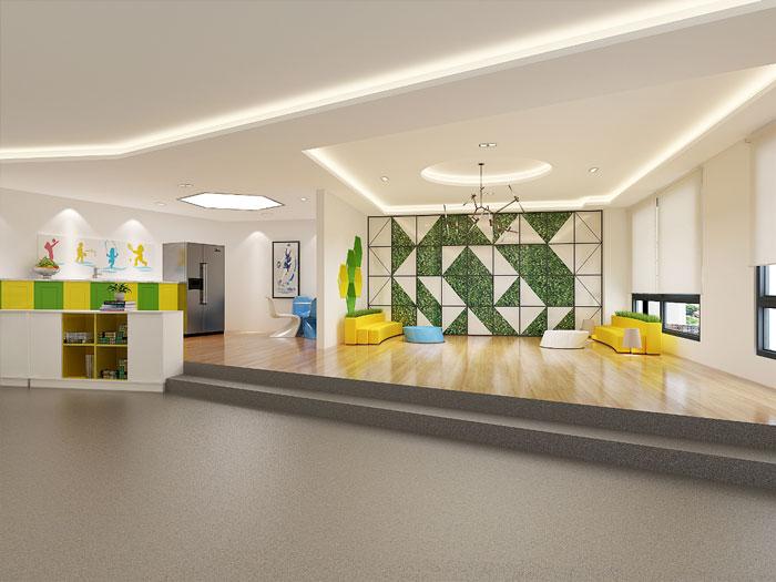 時尚創意辦公室茶水間裝修設計效果圖