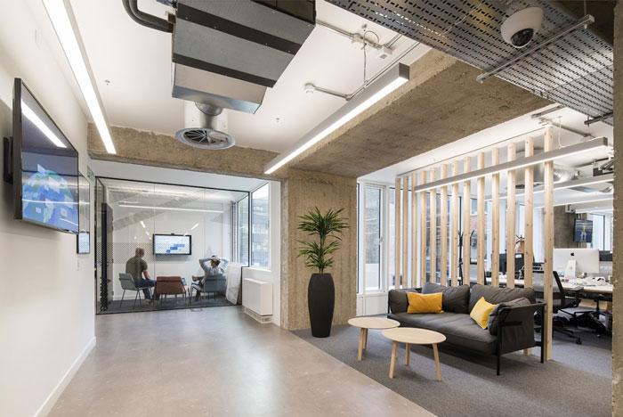 2300平方办公室装修设计效果图