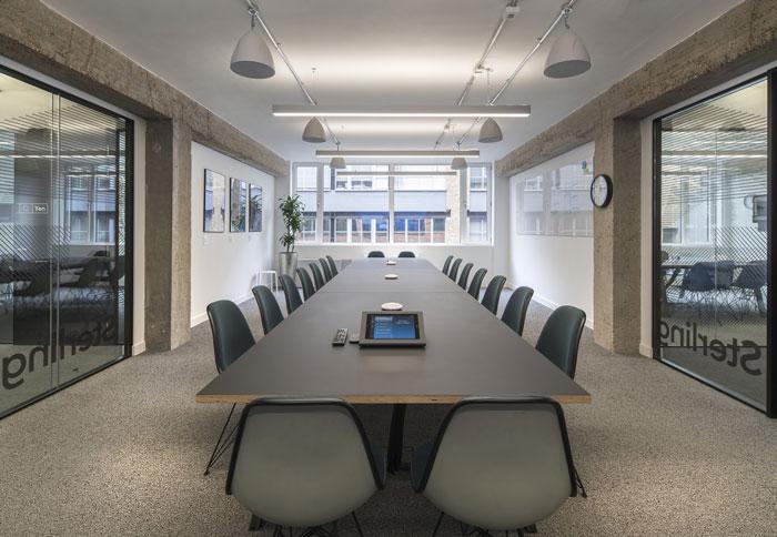 2300平方辦公室裝修設計效果圖