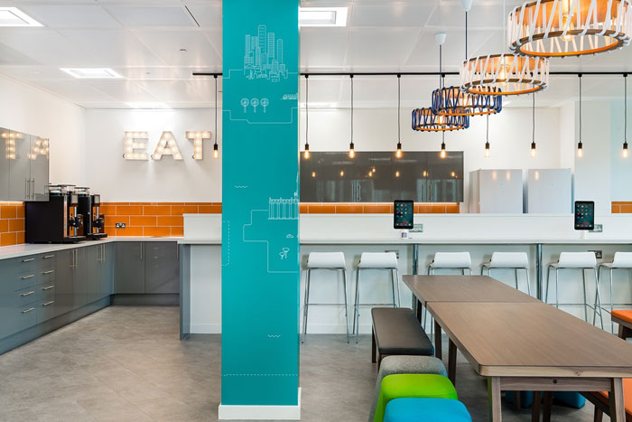 会计公司办公室茶水间装修设计效果图