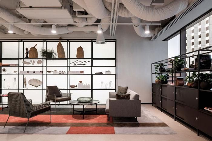 5000平方辦公室接待室裝修設計效果圖