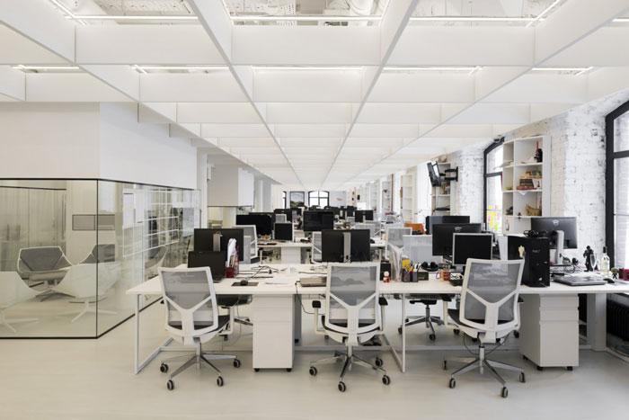 媒体公司办公室装修设计效果图