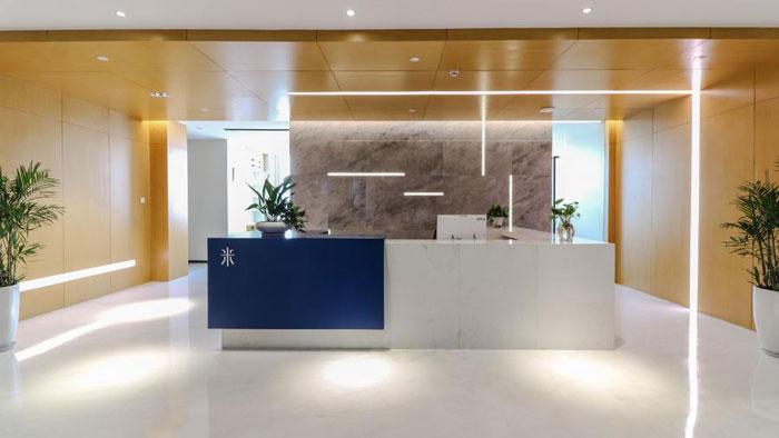 杭州城东新区办公室装修设计效果图图片