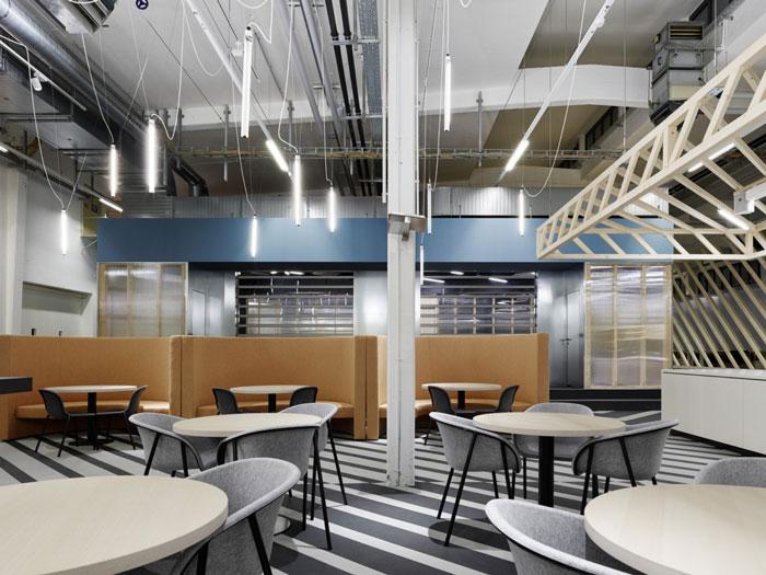厂区办公室茶水间装修设计效果图