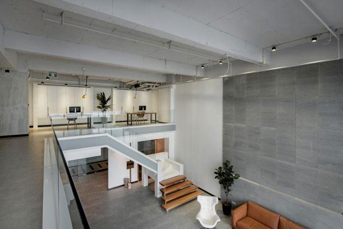 杭州loft风格办公室装修设计效果图图片
