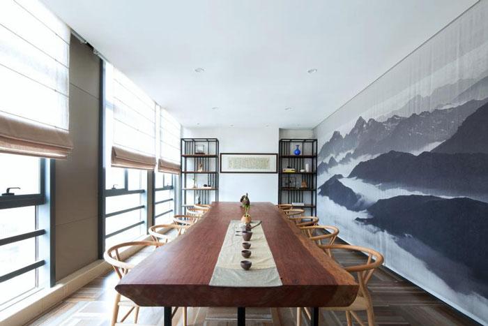 杭州300平方辦公室裝修設計效果圖