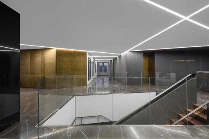 会计师事务所办公室前台装修设计效果图