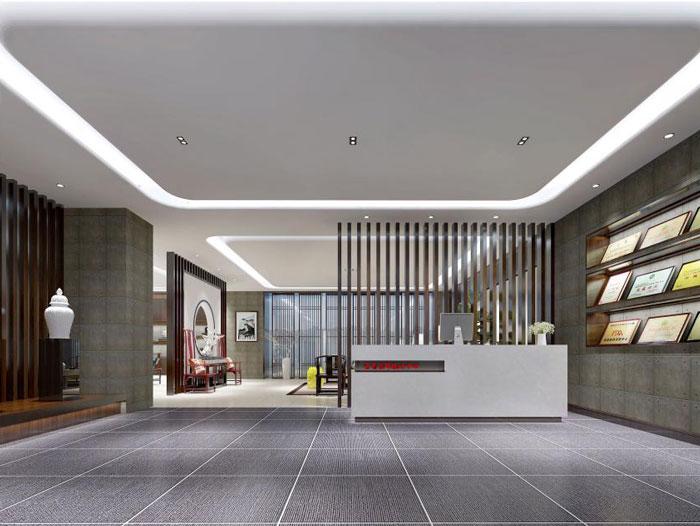 杭州仁和办公室装修设计效果图