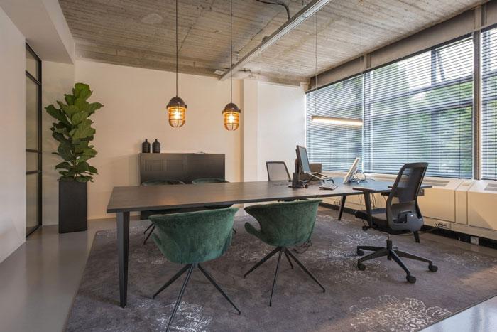 印刷公司办公室装修设计效果图