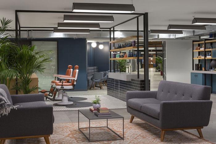 4000平方办公室装修设计效果图