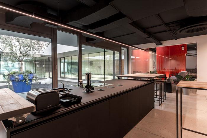 家具厂房办公室茶水间装修设计效果图