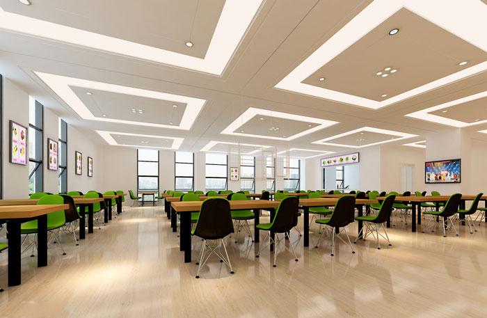 企业孵化器办公室装修设计效果图