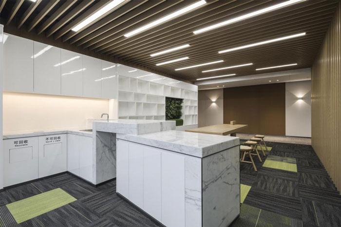 杭州大江东办公室茶水间装修设计方案