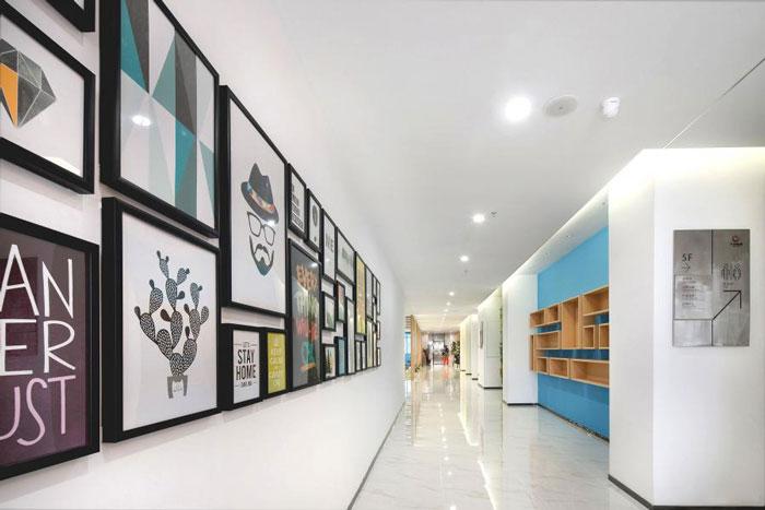 杭州建德办公室走廊装修设计方案