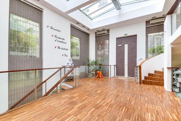 两层550平方办公室装修设计效果图