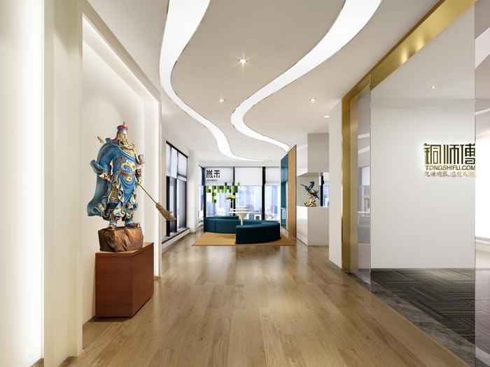 杭州文化创意办公室装修设计效果图
