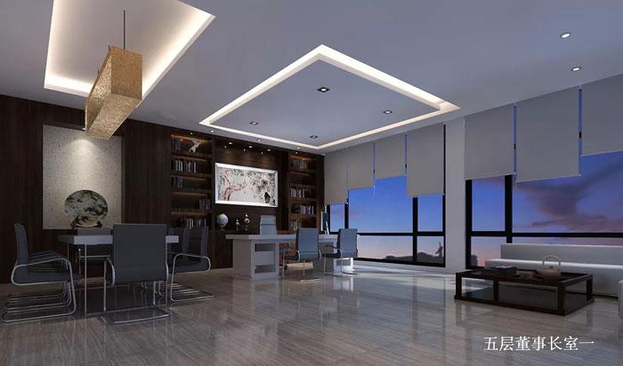 5层珠宝公司办公室装修设计效果图_岚禾设计