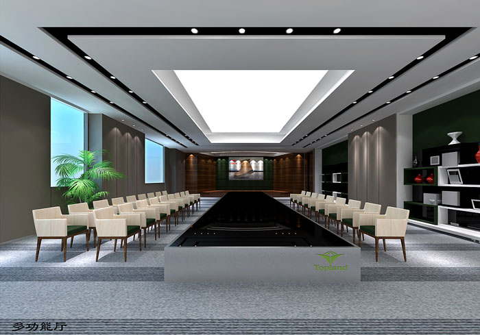 户外用品公司办公室装修设计效果图图片