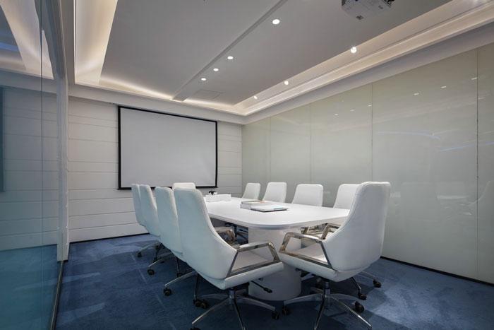 企业办公室装修设计效果图