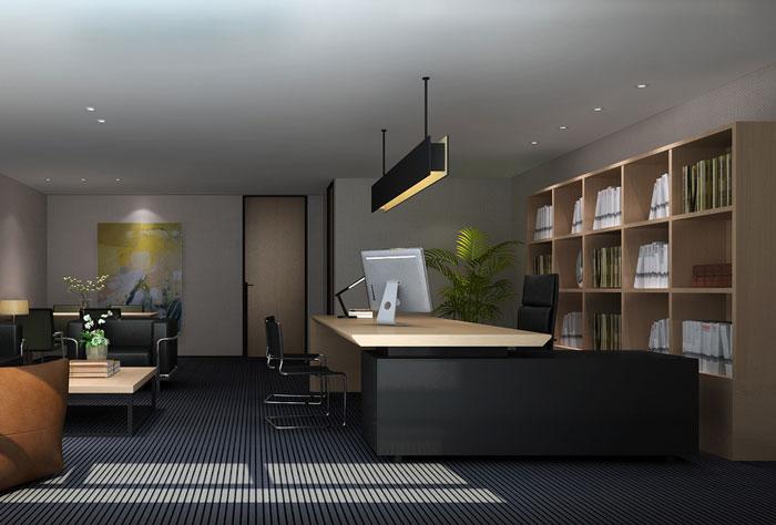 企业写字楼办公室装修设计效果图