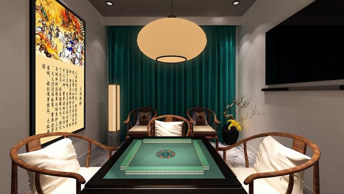 中式风格客房装修设计效果图