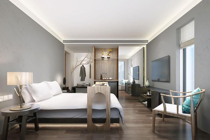 新中式办公室休息区设计方案