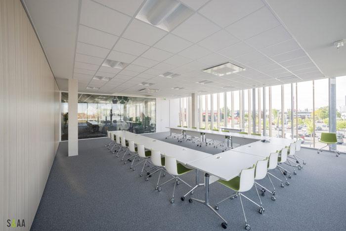 厂房研发中心办公室会议室装修设计效果图