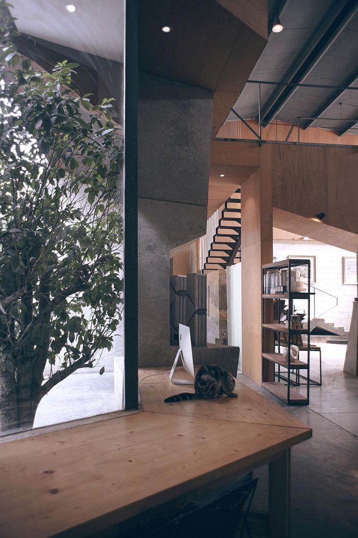 植办公室_厂房改造办公室装修效果图_岚禾设计