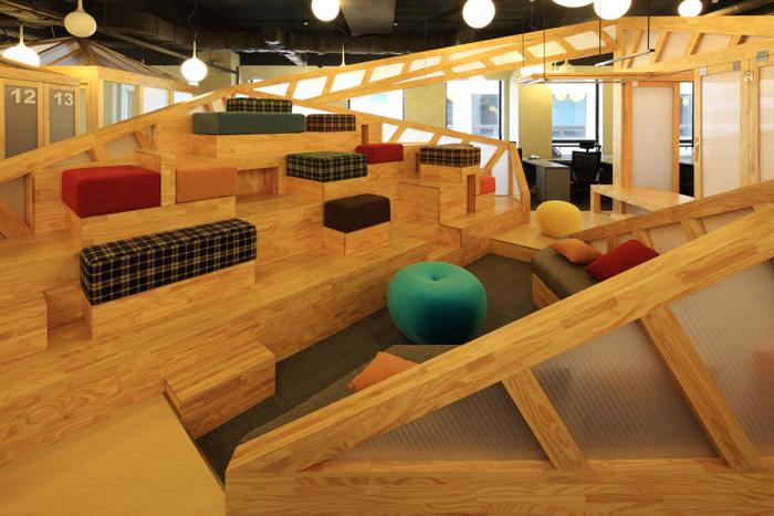 家具厂办公室休息区装修设计方案效果图