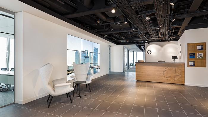正文    本次为房地产办公室装修设计效果图,办公室设计面积1200平方
