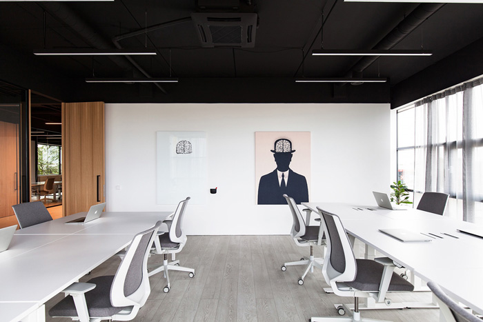 培训教育办公室装修设计效果图