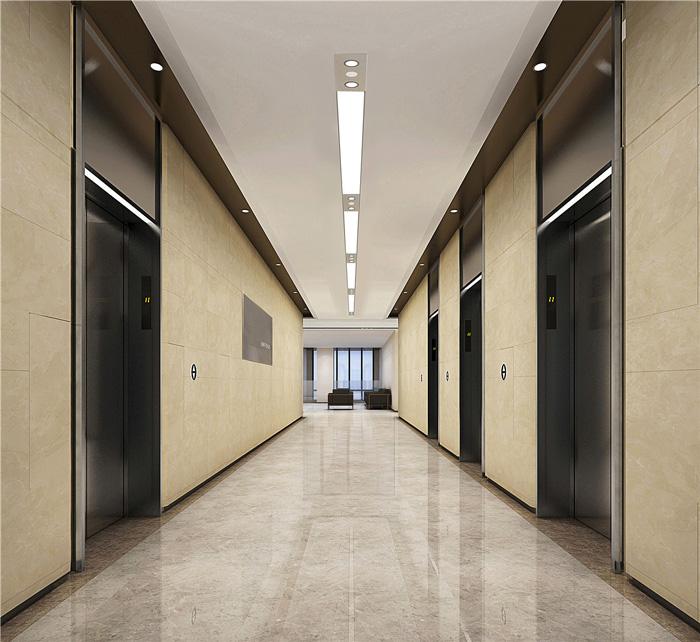 寫字樓電梯間裝修設計效果圖
