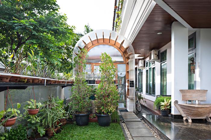原生态办公室庭院装修设计效果图